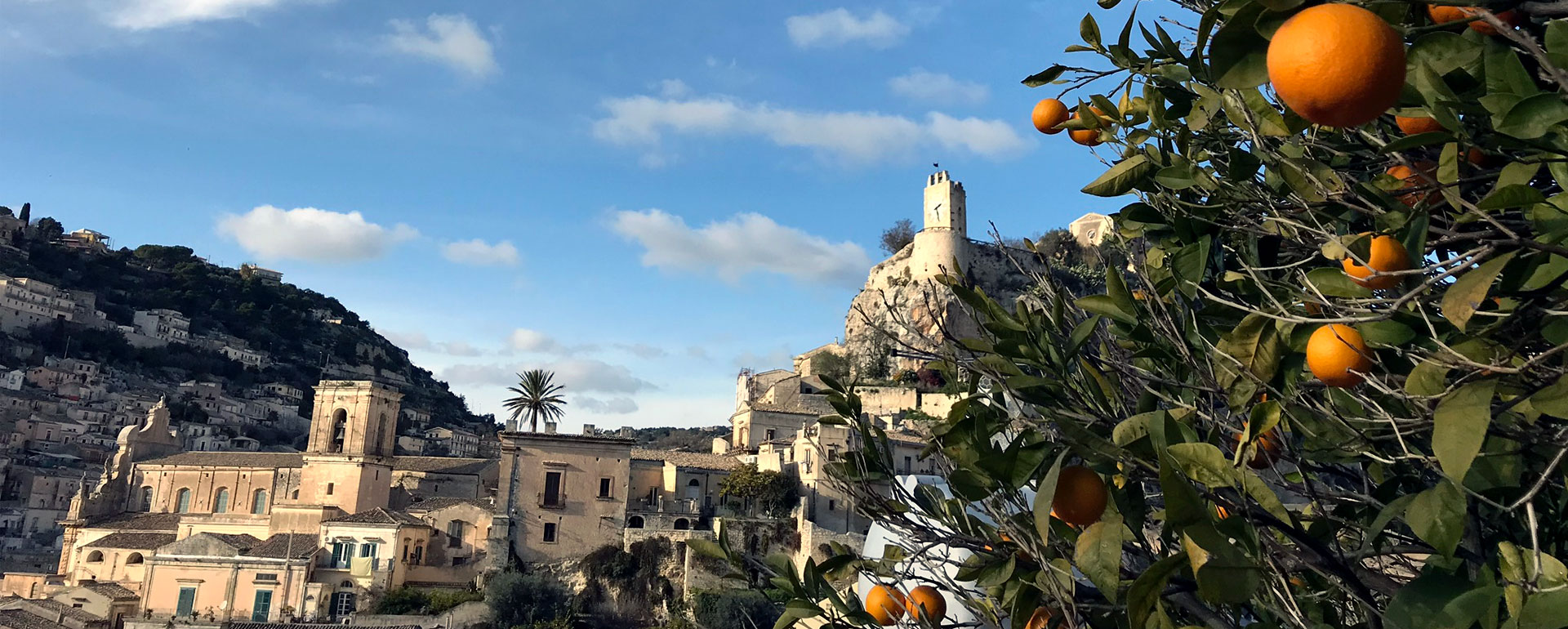 Modica Sicily View from Villa